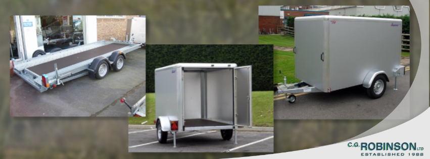 Trailer for hire - part of our latest department
